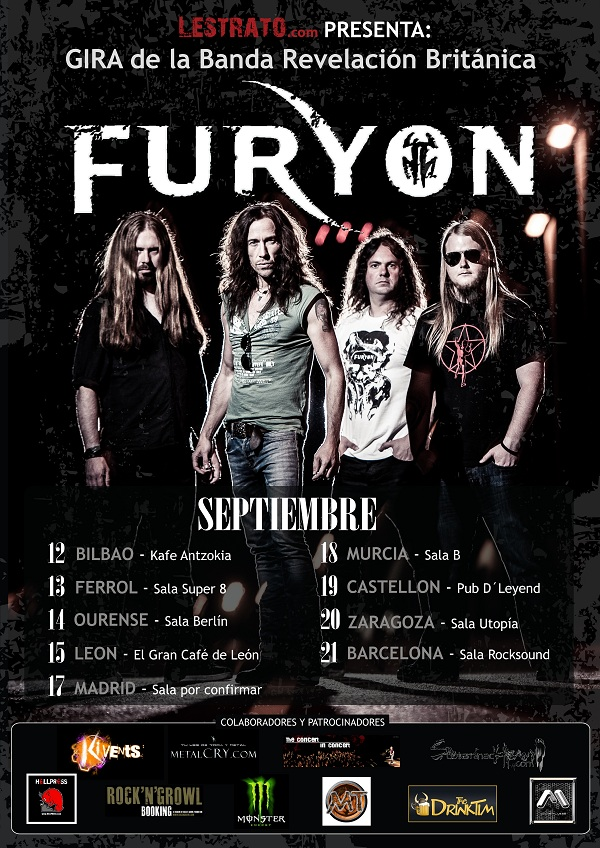 FURYON GIRA ESPAOLA 2013