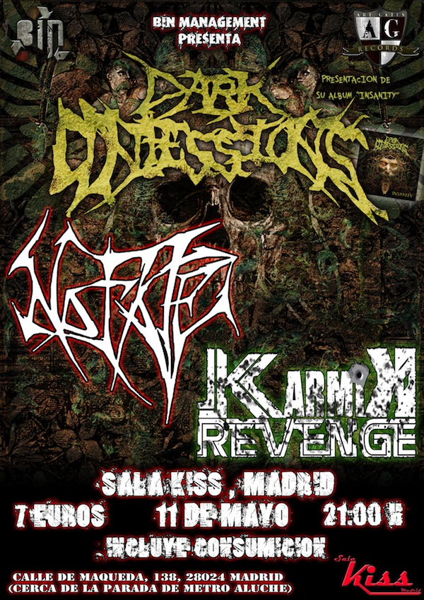 Dark Confessions (Sala Kiss, Madrid)