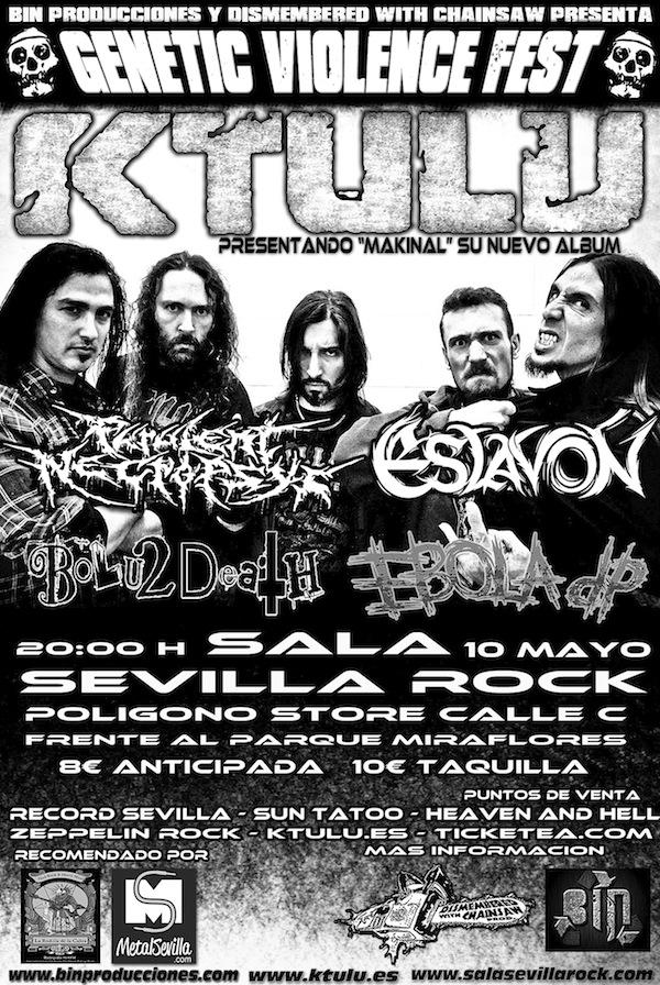 Ktulu ( Sala Underground, Sevilla )