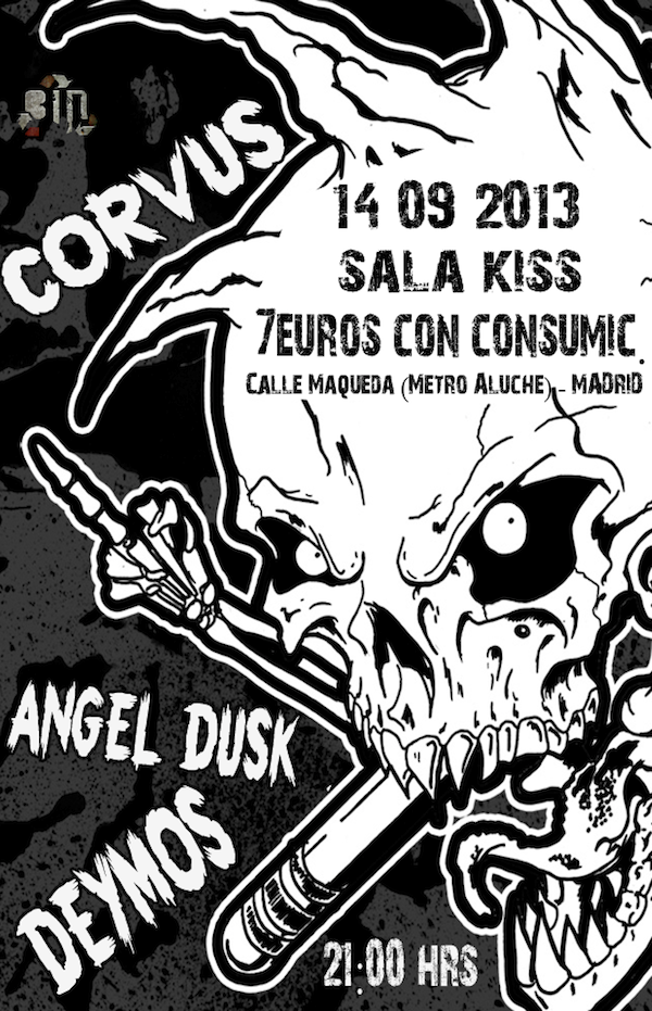 Corvus (Sala Kiss, Madrid)