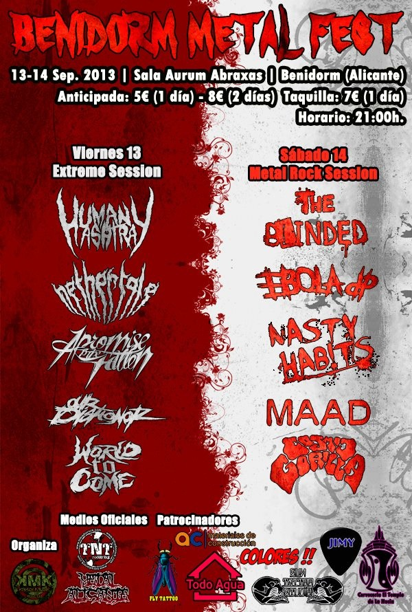 The Blinded ( Benidorm Metal Fest)