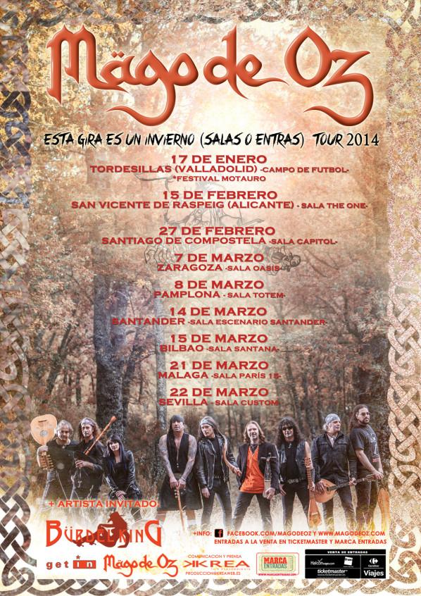 Metalcry.com :: Tu Web de Rock y Metal � M�GO DE OZ ANUNCIA GIRA ...