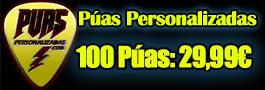 Púas Personalizadas.com