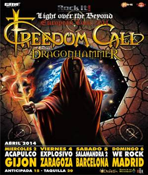 FREEDOM CALL TOUR 2014