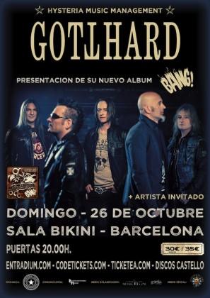 GOTTHARD Barcelona