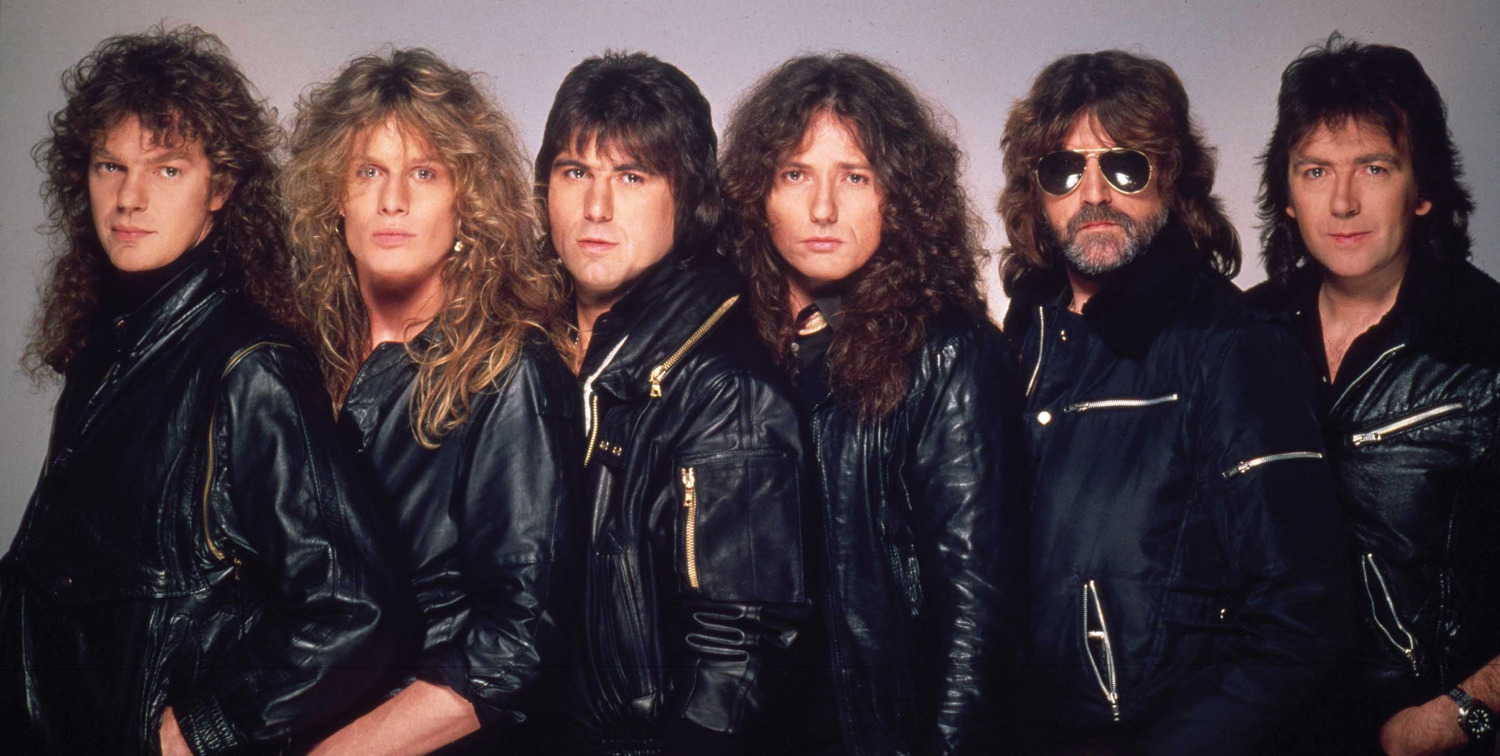 RAINBOW-WHITESNAKE Band_30cm