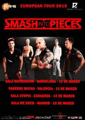 SMASH INTO PIECES GIRA