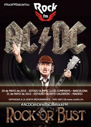 Gira de AC/DC en España