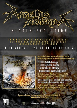ANGELUSAPATRIDAhIDDENEVOLUTIONTOUR