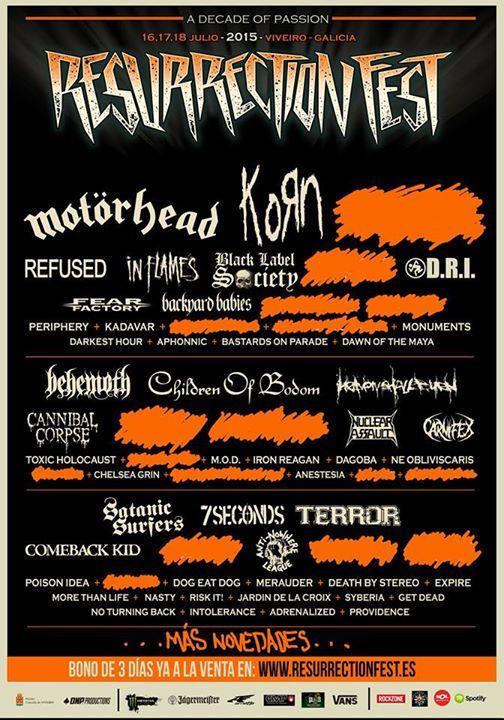Resurrection Fest 2015