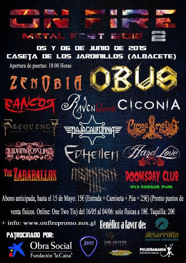 On Fire Metal Fest