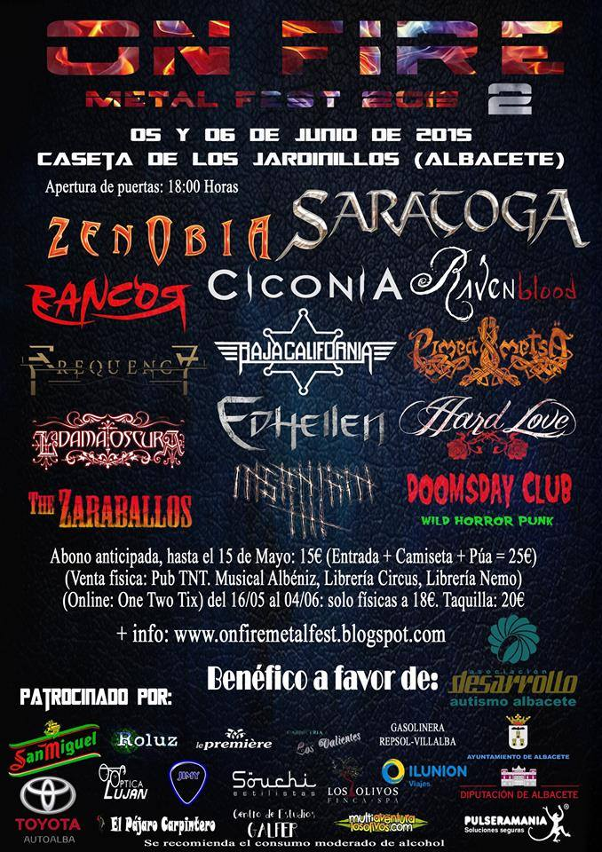 On Fire Metal Fest