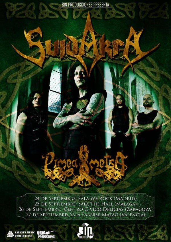 SUIDAKRA Spanish Tour 2015