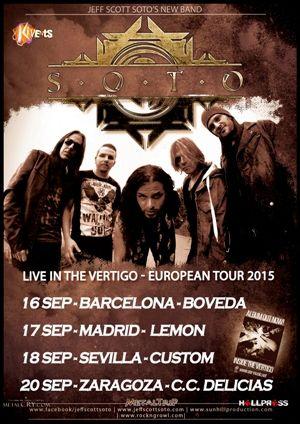 SOTO Spanish Tour 2015