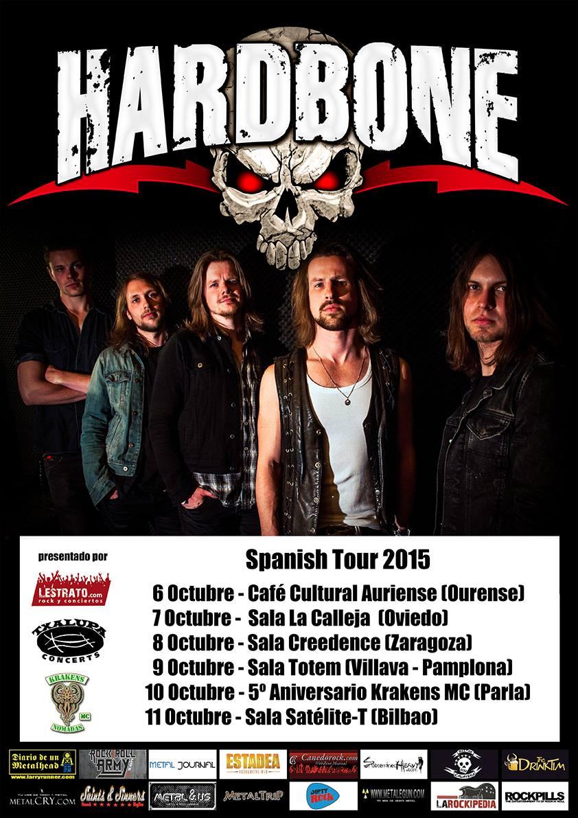 Hardbone Spanish Tour