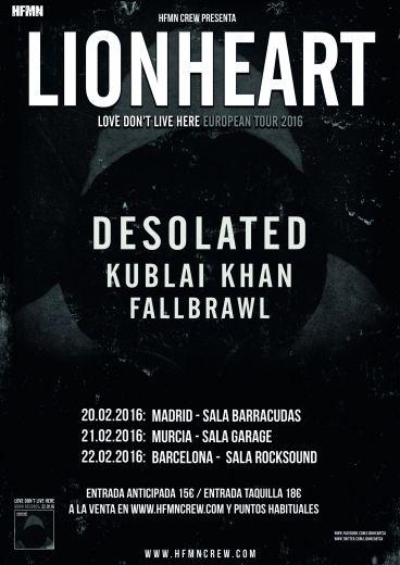 LIONHEART Tour Spain