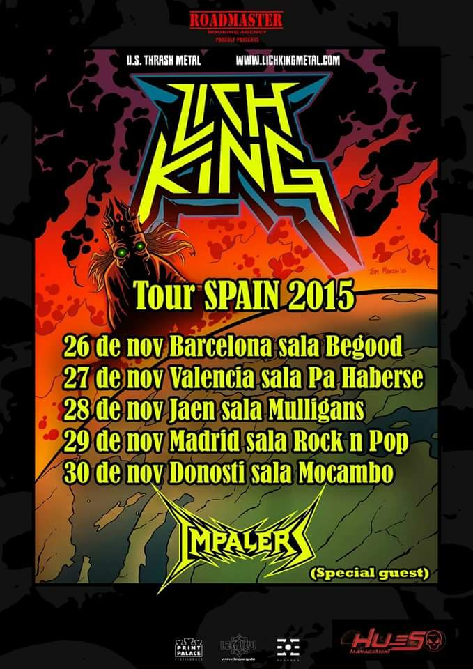 LICH KING Tour España