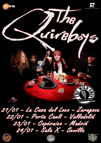 The Quireboys Tour