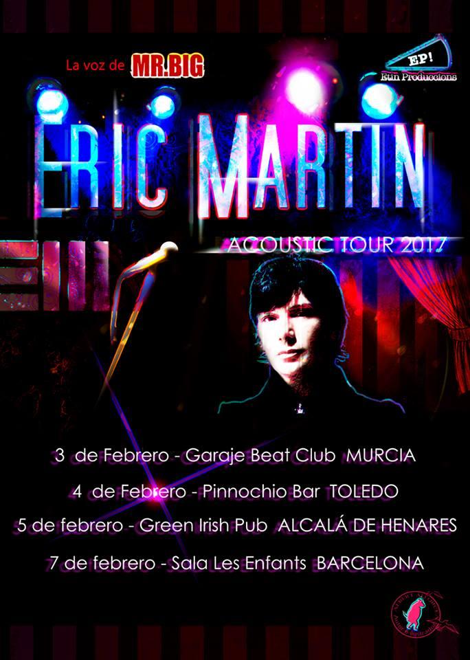 eric martin acustico 2016