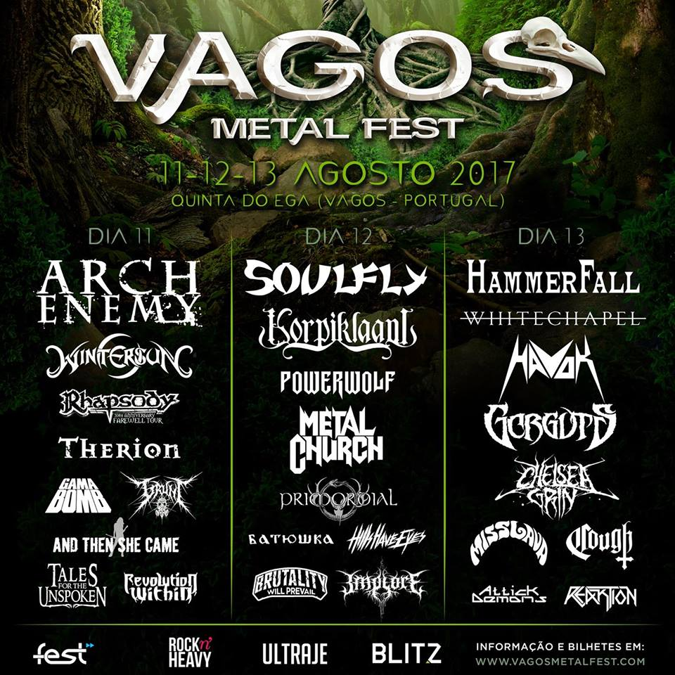 Resultado de imagen de vagos metal fest