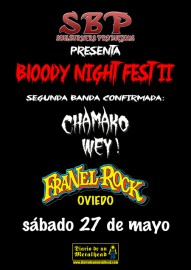 Bloody Night Fest II Segunda Confirmación