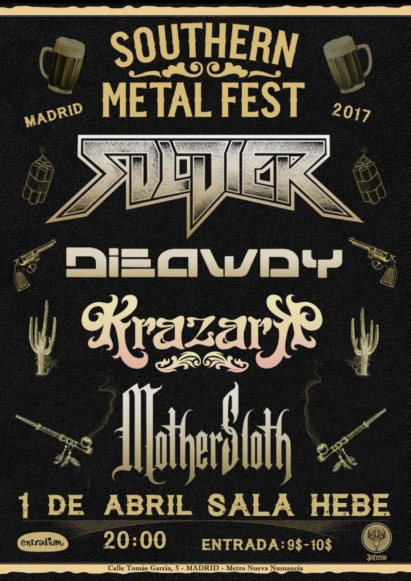 SOUTHERN METAL FEST 2017