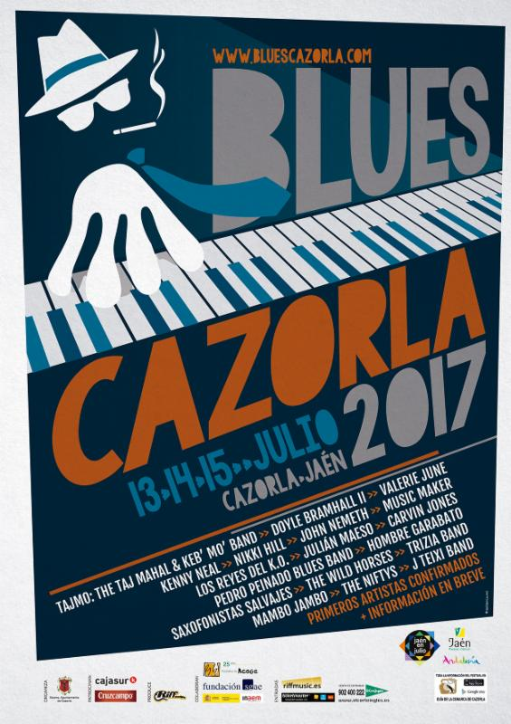 Cartel Blues Cazorla 2017 redes