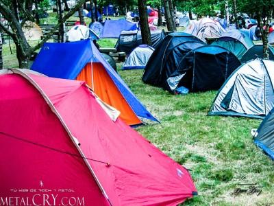 Resurrection Fest Camping