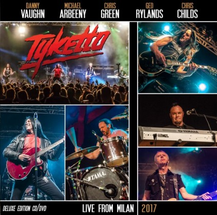 tyketto live in milancover