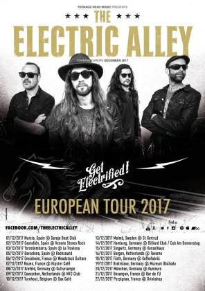 the electric alley - gira europea