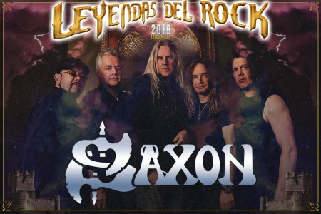 Saxon _ Leyendas del rock 2018