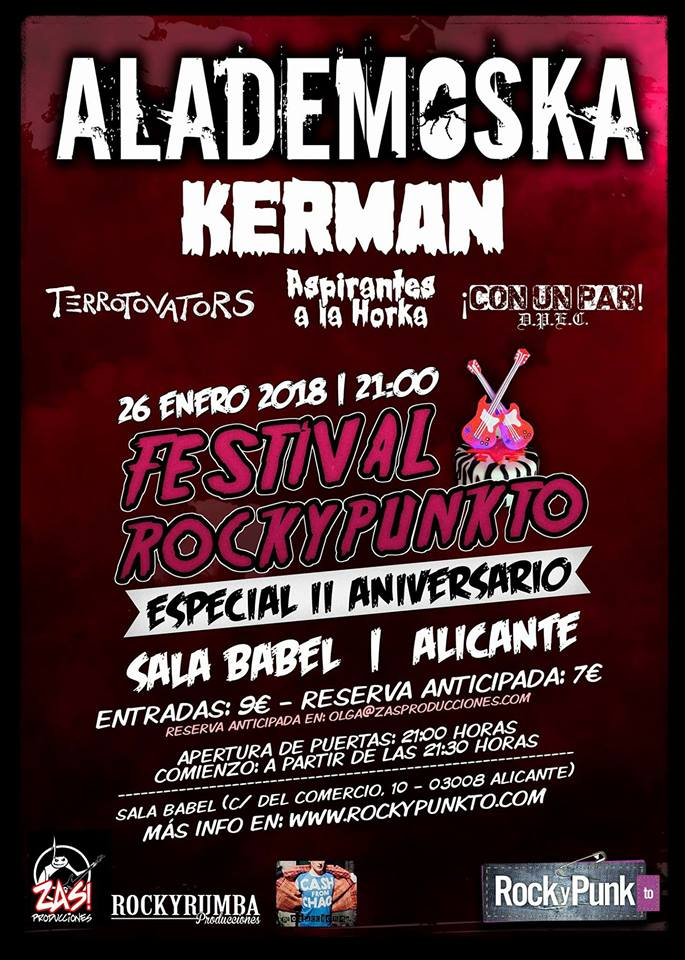 Rock y Punkt, Alicante