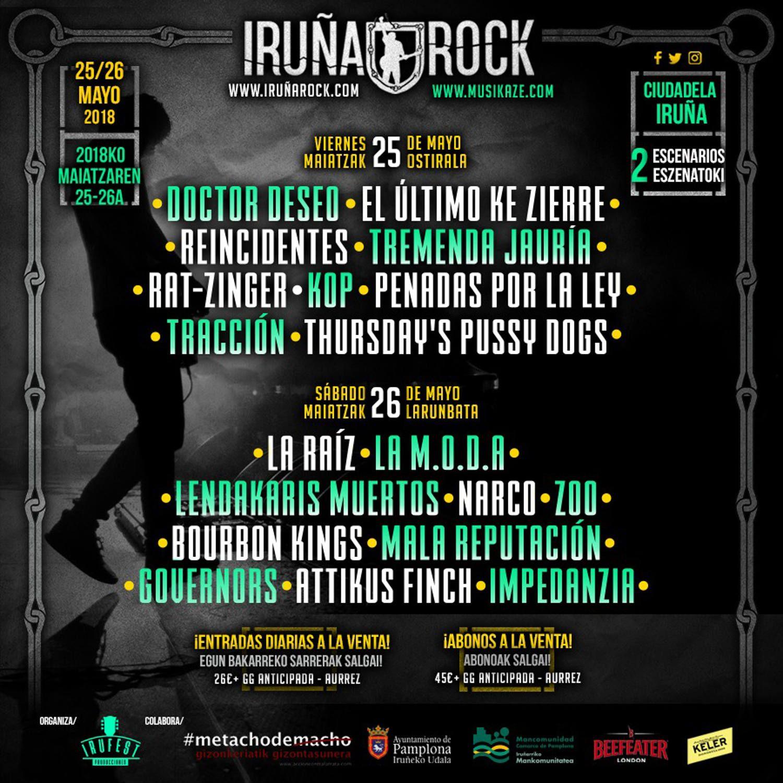 Iruña roock 2018