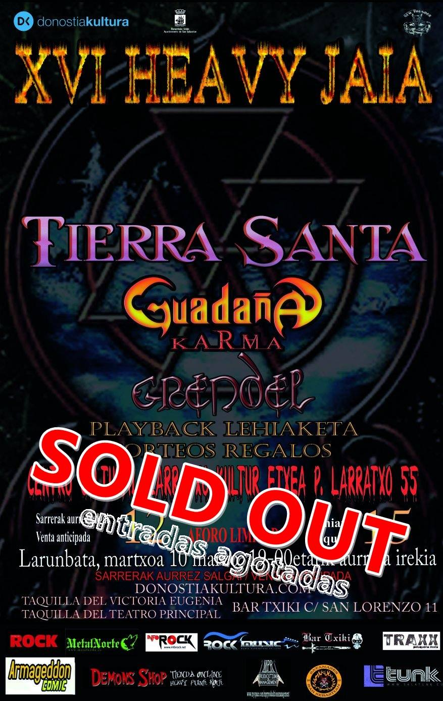 XVI Heavy Jaia Sold Out