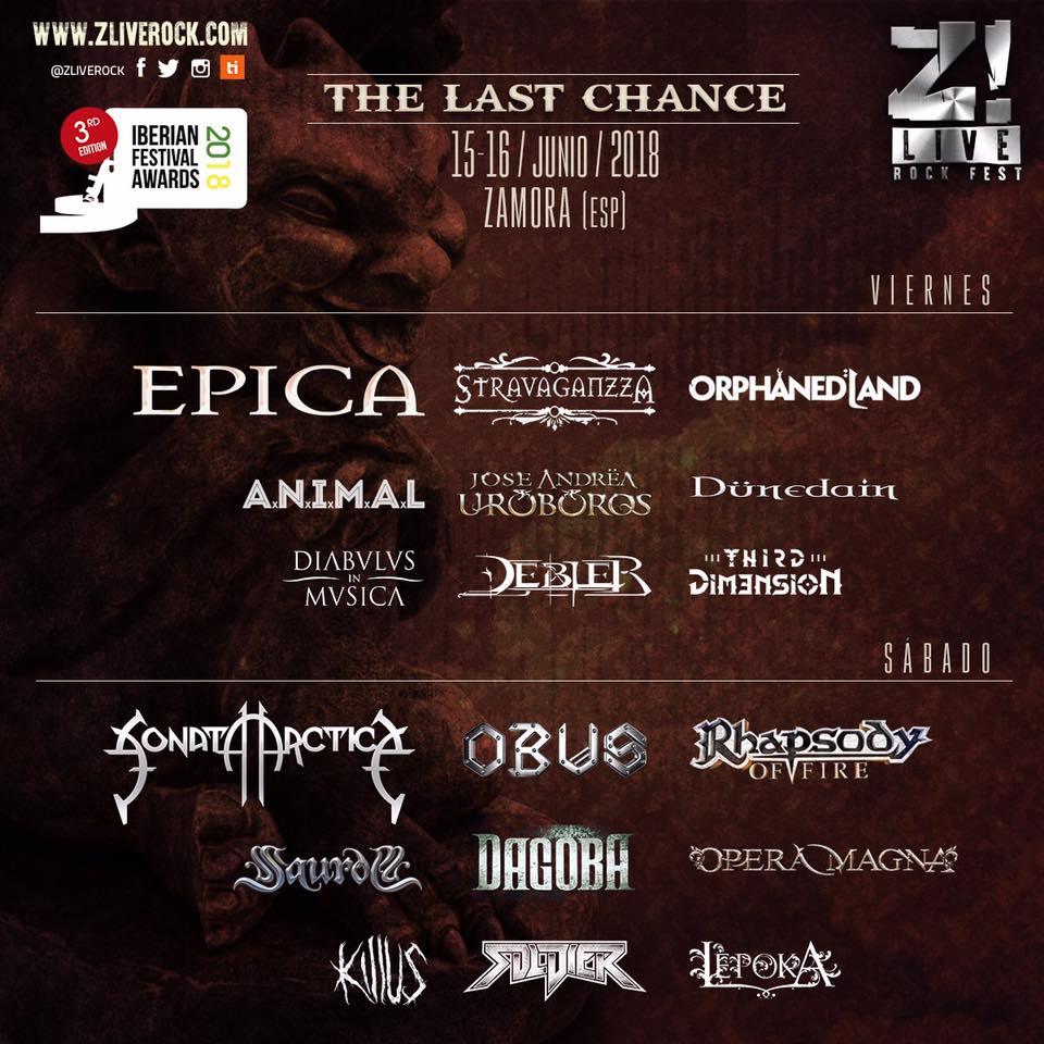 Z Live Rock 2018