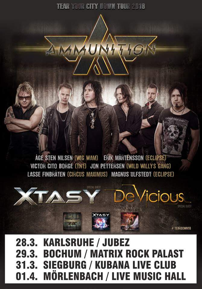 Xtasy - German Tour