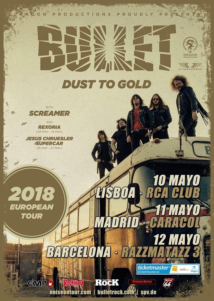 Bullet Gira 2018