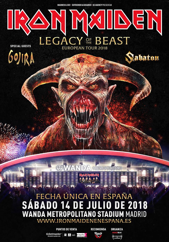 Iron Maiden Madrid