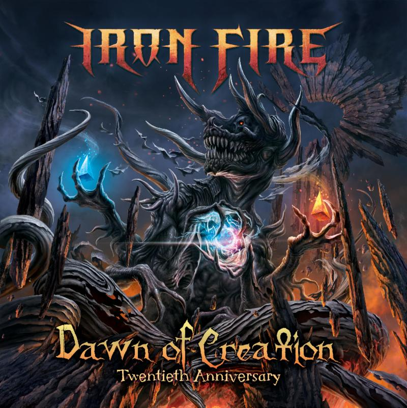 Iron Fire - Dawn of Creation - Front cover