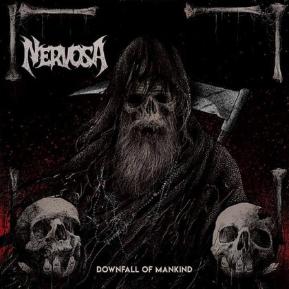 Nervosa Downfall Cover